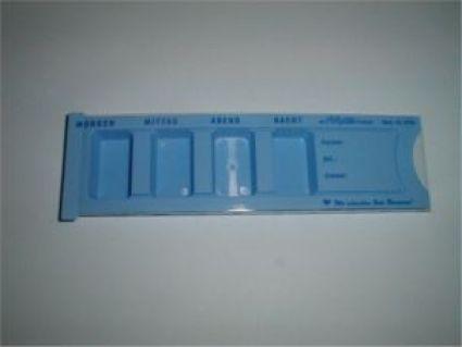 medikamentenbox tablettenspender. Black Bedroom Furniture Sets. Home Design Ideas