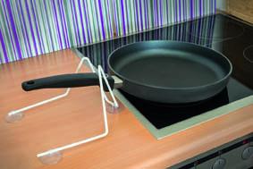 pfannenhalter mit saugn pfen. Black Bedroom Furniture Sets. Home Design Ideas