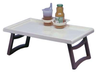 bett serviertisch mit becherhalter. Black Bedroom Furniture Sets. Home Design Ideas
